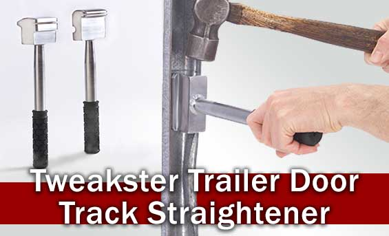 Tweakster Trailer Door Track Straightener